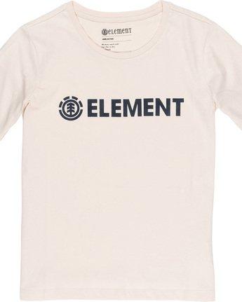 1 Element Logo - T-Shirt White Q3SSA3ELF9 Element