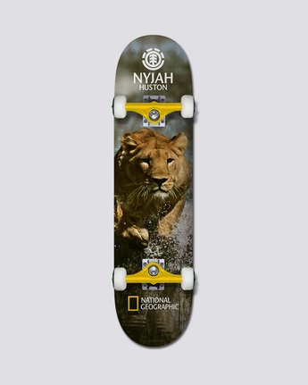 "0 Nat Geo Nyjah Lion 7|75"" - Skateboard  Q4CPA3ELF9 Element"