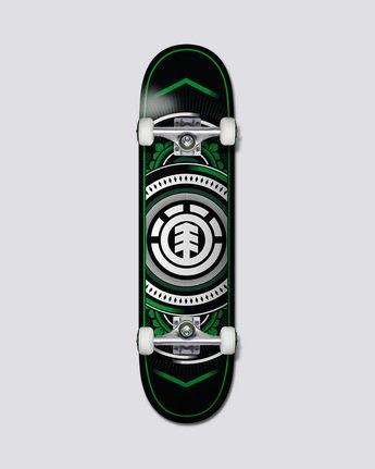 """Hatched Verde Twig 7.2"""" - Skateboard  Q4CPB9ELF9"""