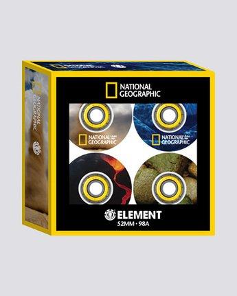 1 Nat Geo WWFE - 52 mm Wheels  Q4WHA3ELF9 Element
