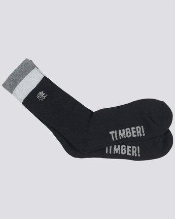1 Timber - Socks Black Q5SOA2ELF9 Element