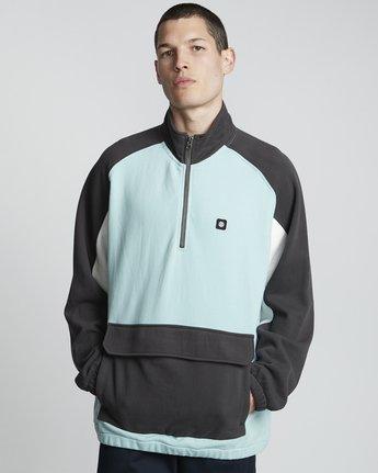 Block Qtr - Zip-Up Sweatshirt for Men  S1FLA6ELP0