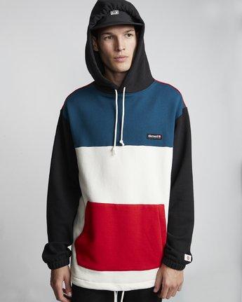 3 Primo Tokyo Block - Sweatshirt für Herren  S1FLB2ELP0 Element