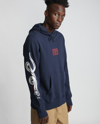 0 Snakes - Hoodie for Men Purple S1HOC1ELP0 Element