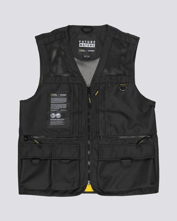 National Geographic Aether - Recycled Waterproof Vest for Men  S1JKC6ELP0
