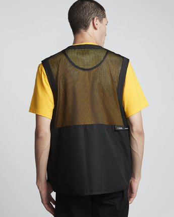 4 National Geographic Aether - Recycled Waterproof Vest for Men Black S1JKC6ELP0 Element