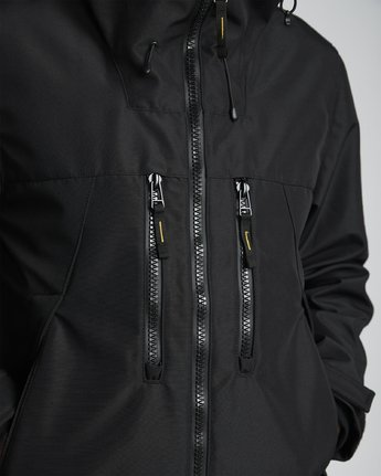 8 National Geographic Aether - Recycled Waterproof Jacket for Men Black S1JKC7ELP0 Element