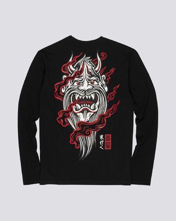 4 Demon Keeper - Long Sleeve T-Shirt for Men Black S1LSB2ELP0 Element