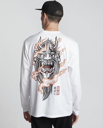 Timber! Go East Demon Keeper - Organic Cotton Long Sleeve T-Shirt for Men  S1LSB2ELP0