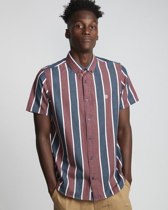 Icon Stripes - Woven Tops for Men  S1SHA1ELP0