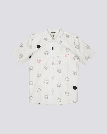 Polka Smile - Short Sleeve Shirt for Men  S1SHA3ELP0