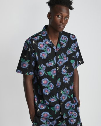 Sunflowers - Woven Tops for Men  S1SHA6ELP0