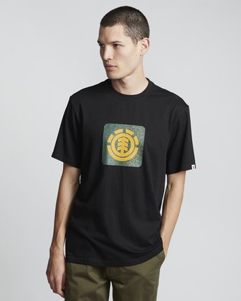 Leopard Block Icon - Short Sleeve T-Shirt for Men  S1SSA5ELP0