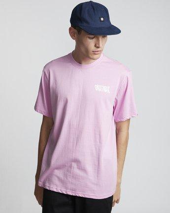 1 Stiles - Camiseta de manga corta para Hombre Violeta S1SSA7ELP0 Element