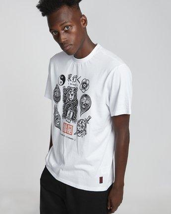 2 Flash - Short Sleeve T-Shirt for Men White S1SSD4ELP0 Element