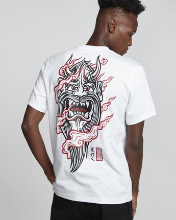 Timber! Go East Demon Keeper - Organic Cotton Short Sleeve T-Shirt for Men  S1SSF4ELP0