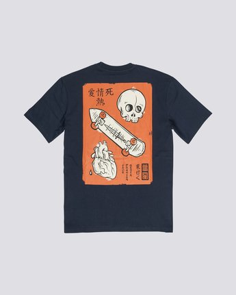 0 Timber! Go East Love Passion Death - Organic Cotton Short Sleeve T-Shirt for Men Purple S1SSF5ELP0 Element