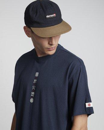 2 Primo Tokyo Yuki - Maglietta a maniche corte da Uomo Purple S1SSF7ELP0 Element
