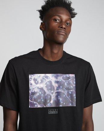 2 National Geographic Micro - Organic Cotton Short Sleeve T-Shirt for Men Black S1SSH4ELP0 Element
