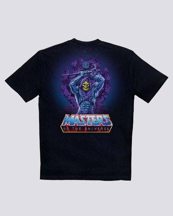 1 Masters Of The Universe Skeletor  - Camiseta para Hombre Negro S1SSJ3ELP0 Element