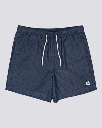"""Chillin' 16"""" - Elastic Waist Shorts for Men  S1WKB9ELMU"""