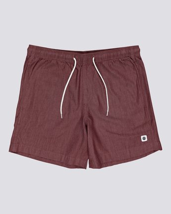 "Chillin' 16"" - Elastic Waist Shorts for Men  S1WKB9ELMU"