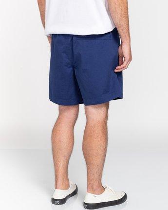 "6 Vacation 16"" - Elastic Waist Shorts for Men Blue S1WKC1ELMU Element"