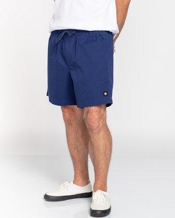 "5 Vacation 16"" - Elastic Waist Shorts for Men Blue S1WKC1ELMU Element"