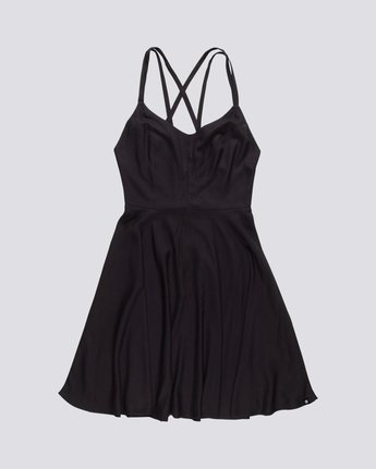 Heart Twill - Viscose Dress for Women S3DRA2ELP0