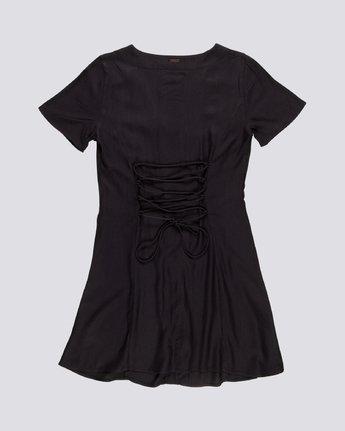 1 Sue Twill - Short Sleeve Dress for Women Black S3DRA5ELP0 Element