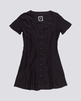 Sue Twill - Short Sleeve Dress for Women  S3DRA5ELP0
