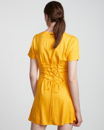 3 Sue Twill - Short Sleeve Dress for Women  S3DRA5ELP0 Element