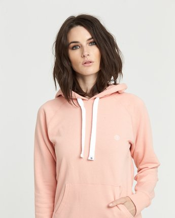 Lette Hood Ft - Fleece for Women  S3HOA2ELP0