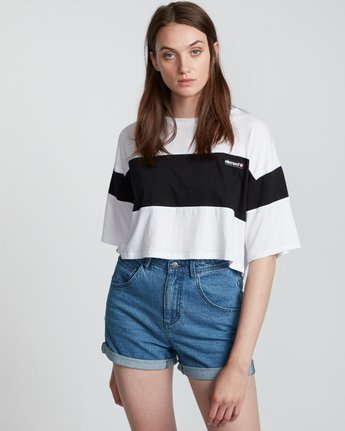 Tri Block - Short Sleeve Top for Women  S3KTA2ELP0