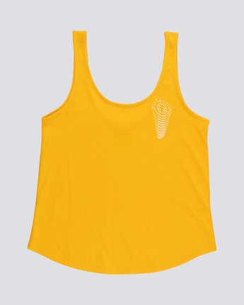 Branded Low - Organic Cotton Vest Top for Women  S3SGA4ELP0