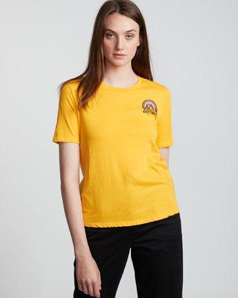 3 Branded - T-Shirt manches courtes en coton biologique pour Femme  S3SSA2ELP0 Element
