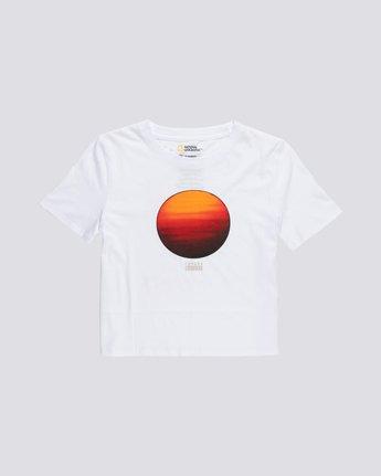 Nat Geo Crop - Organic Cotton Short Sleeve T-Shirt for Women  S3SSA8ELP0