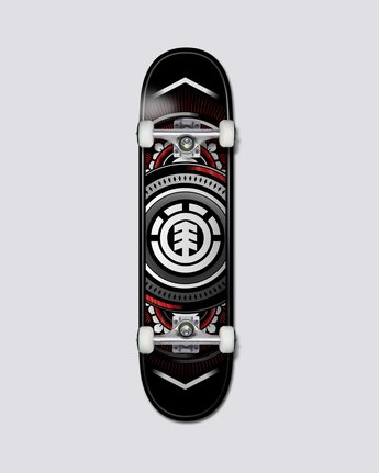 "7.5""ched Red Silver - Skateboard  S4CPB2ELP0"
