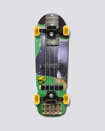 "Bad Brains 9.5"" Bad Brains Green Monster Complete - Skateboard  S4CPB6ELP0"