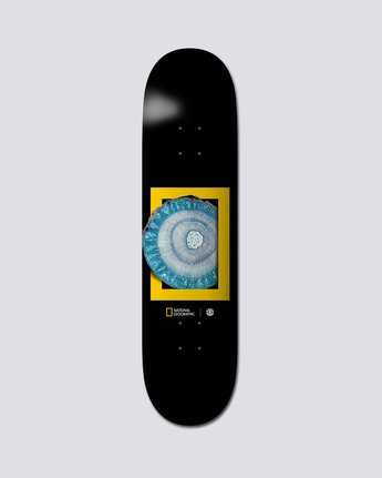 "National Geographic 8.25"" Nat Geo Molecule - Skate Decks  S4DCB1ELP0"