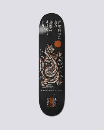 "8.25"" Timber Wolf Dragon - Skate Decks  S4DCC1ELP0"