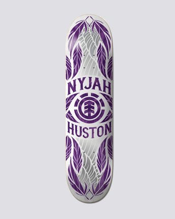 "8"" Nyjah Feathers Purple - Skateboard Deck  S4DCF7ELP0"