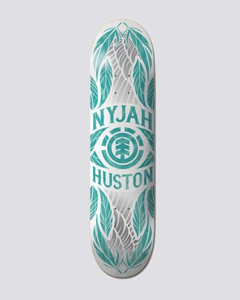 "8.25"" NYJAH FEATHERS TEAL  S4DCF8ELP0"