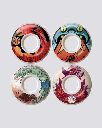 Reptilicus Wheel Set - Skate Accessories  S4WHA6ELP0