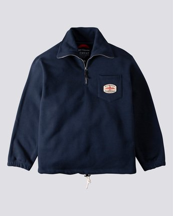 Nigel Cabourn Totem - 1/4 Zip Sweatshirt for Men  U1FLA9ELF0