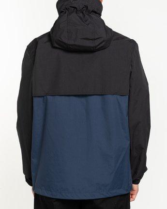 2 Future Nature Koto - Water-Resistant Jacket for Men Blue U1JKA5ELF0 Element