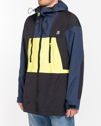 2 Future Nature Koto - Packable Water-Resistant Jacket for Men Blue U1JKA7ELF0 Element