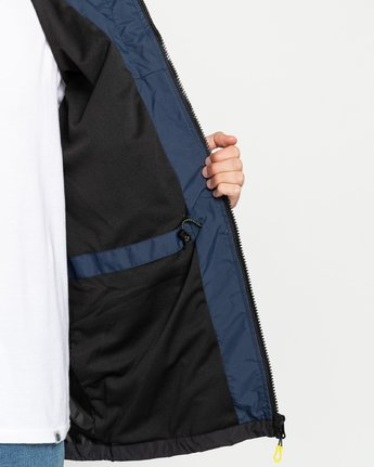 3 Future Nature Koto - Packable Water-Resistant Jacket for Men Blue U1JKA7ELF0 Element