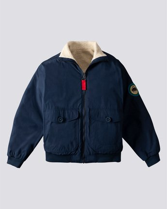 Nigel Cabourn Creek - Reversible Jacket for Men  U1JKB5ELF0