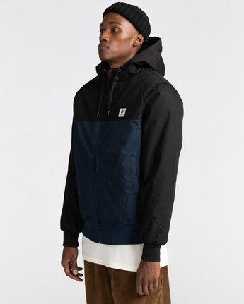 1 Wolfeboro Dulcey Two Tones - Water-Resistant Jacket for Men Blue U1JKC2ELF0 Element